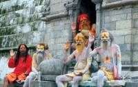 Sadhus (Devotee Of Lord Shiva)  » Click to zoom ->
