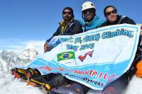 Island Peak climbing Organized by Himalan Hub International  » Click to zoom ->